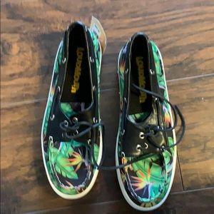 Loudmouth men's sailor boat shoes (size 9)